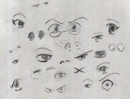 37 - Eyes by TomoeCosmo