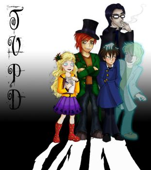 Twin Vice Paranormal Detectives Cast by SilentKnight4