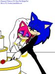 .:Amy+Sonic Marriage:. by shadowluver3000