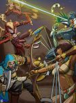 Fight in Egypt by Mike-Tr