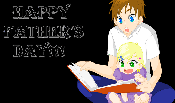 Happy Father's Day by Kaira-Nakimi