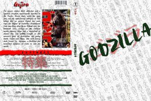 Godzilla Custom DVD Cover -V2- by SUPERMAN3D