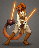 May the 4th Be With You - Clemikou by ClemiKinkajou