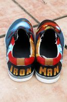 Iron Man shoes 4 by LovelyAngie