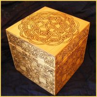 Celtic Box 2 by BacktoEarthCreations