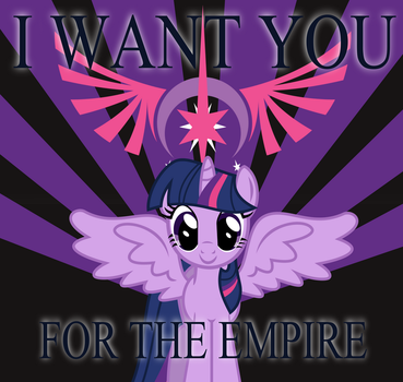 Join the Empire Propaganda by BRONYVAGINEER