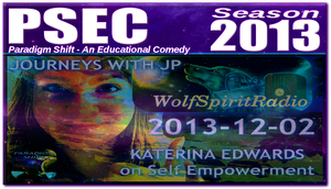 YT THUMBNAIL Katerina Edwards on Self Empowerment by paradigm-shifting