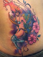 fairy tattoo by mojoncio
