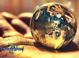 Sora into a Pokeball by Jonathanjo