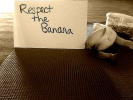 Respect the Banana by IggyWillSaveMeIn2012