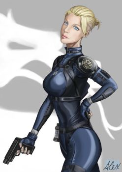 Cassie Cage by siberzer0
