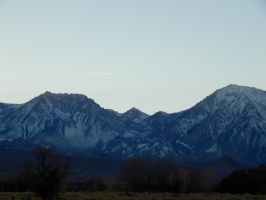 Jet Over The Sierras by bowencormac