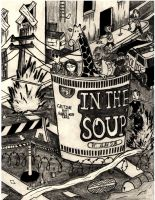 In the Soup Comic Book Cover Page by Marpaparp