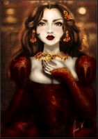 Anne Boleyn by Iridescence-art