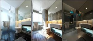 LightingJF11 Bathroom by cmjohncheng