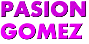 Texto PNG PASION GOMEZ by Melody478