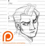 Schedule Book Sketches by MistyTang