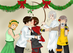 RWBYtalia: The Problem with Mistletoe by AmaiYuzuki564