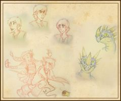 HTTYD Sketches by RamblinQuixotic