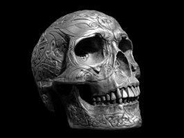 Celtic Skull by stocko