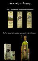 Olive Oil Labeling n Packaging 2007 by ValkyrieXRain