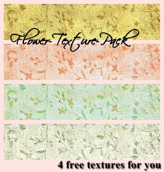 .Flower Texture Pack. by bloodymarie-stock