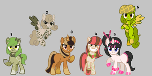 More Pony Adopts (CLOSED) by IIbukiMioda