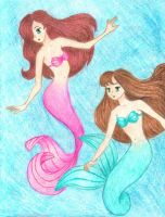 Mermaids by mederu69