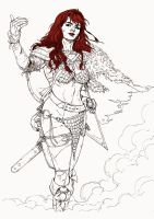 Red Sonja by MarcLaming