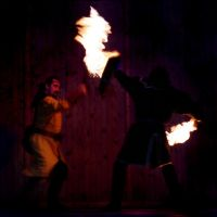 Fire and Shield by Gildir