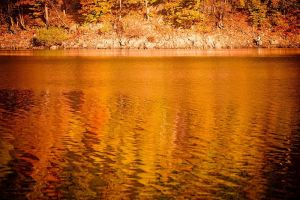 Fisherman vs autumn by mjagiellicz