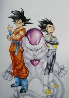 DragonBall Super by Pandaroszeogon