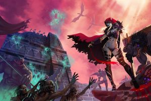 Wow Art Sylvanas by Angju