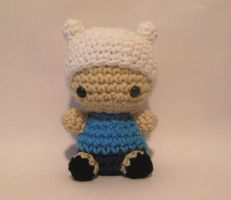 Finn the Human Crochet Amigurumi by StitchedLoveCrochet