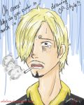 2 Years Later: Sanji by Alalein