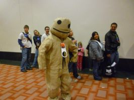 PAX East: Sackboy Cosplayer by Sane-Intolerant