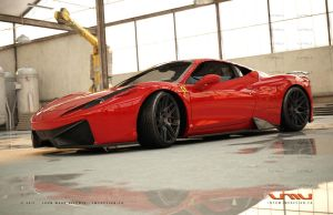 Ferrari 458 Italia GT - 15 by jmvdesign