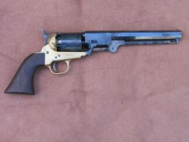 Reproduction 1851 Colt Navy by theotherfatoldman