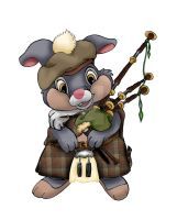 Bagpipe Thumper by AmyCrane