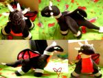 Cynder Plushie by KidXister