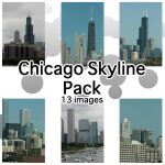 Chicago Skyline Pack by sd-stock