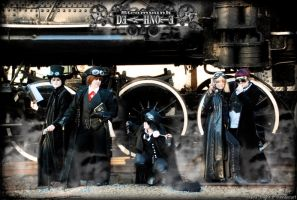 Steam Punk Death Note by key0fdestiny13