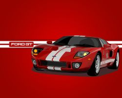 Ford GT Vector by V3ct0r