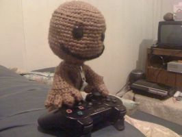 Little Big Planet Sackboy-thr3 by meberra