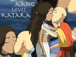 Aang Loves Katara by avatar91fan