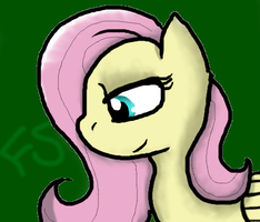FlutterShy by 0LightsOut1