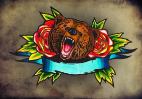 Old school Bear by TimHag