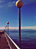 Seattle Pier by CaelinLogan