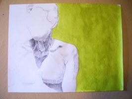 green and pencil by dixonandrew
