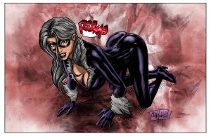Black Cat Colors by ChrisMcJunkin
